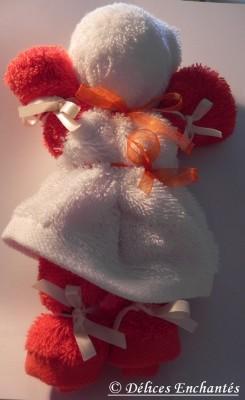 poupée fabrication avec bras