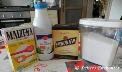 Danette préparation
