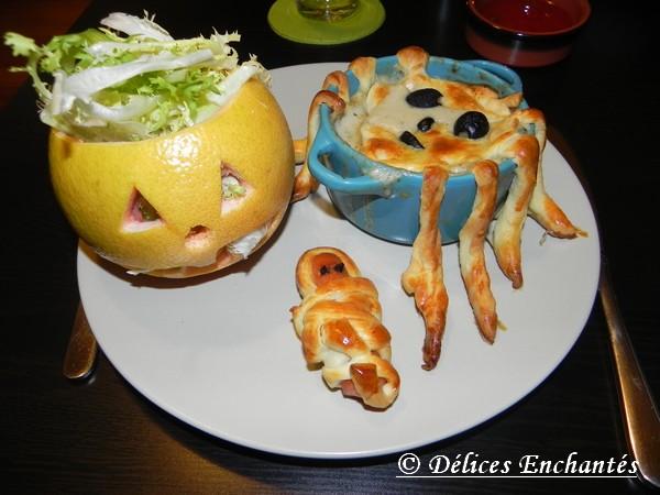 repas halloween 2013