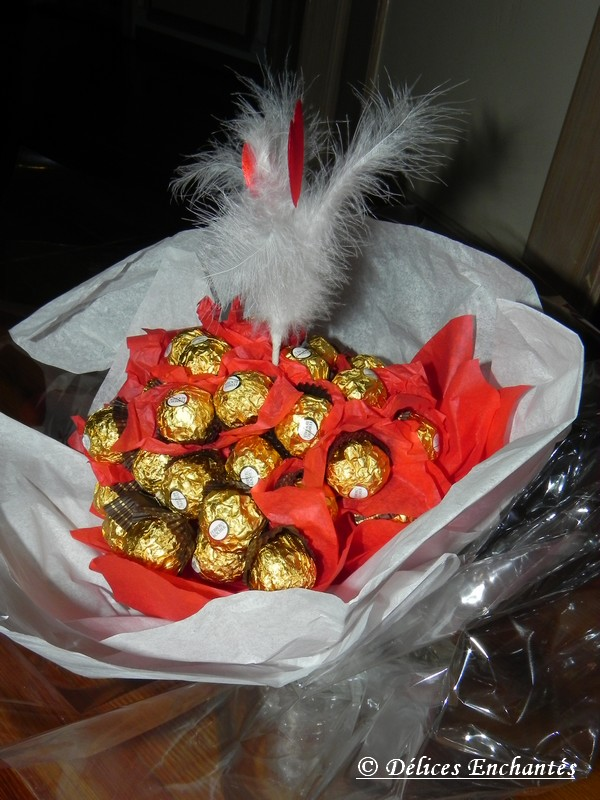 bouquet ferrero rocher 6
