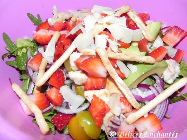 salade fraise épinards 1