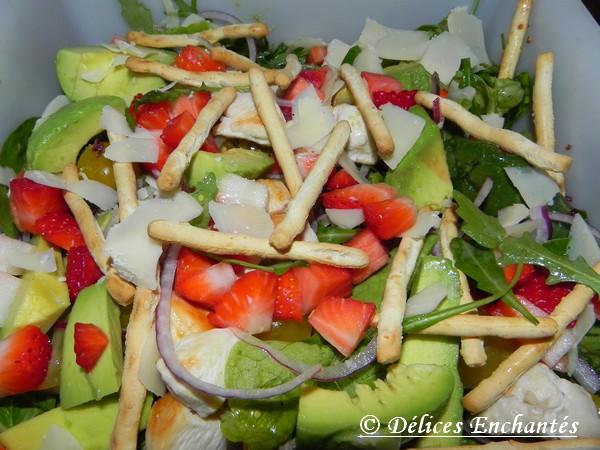 salade fraise épinards 2